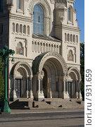 Купить «Главный вход в собор», фото № 931659, снято 6 июня 2009 г. (c) Олег Трушечкин / Фотобанк Лори