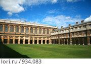 Купить «Тринити колледж, Кембридж», фото № 934083, снято 4 августа 2008 г. (c) Васильева Татьяна / Фотобанк Лори