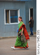 Купить «Кришнаиты. Праздник колесниц», эксклюзивное фото № 945395, снято 6 июня 2009 г. (c) lana1501 / Фотобанк Лори