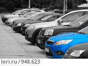 Купить «Голубая мечта - автомобиль», фото № 948623, снято 28 июня 2009 г. (c) Кекяляйнен Андрей / Фотобанк Лори