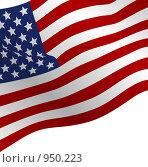 Флаг США. Стоковое фото, фотограф Сергей Галушко / Фотобанк Лори