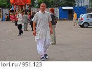 Купить «Кришнаиты. Праздник колесниц», эксклюзивное фото № 951123, снято 6 июня 2009 г. (c) lana1501 / Фотобанк Лори