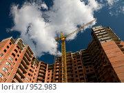 Купить «Строительство многоэтажного дома», фото № 952983, снято 26 мая 2009 г. (c) Glen_Cook / Фотобанк Лори