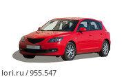 Купить «Красный автомобиль», фото № 955547, снято 2 мая 2009 г. (c) Яков Филимонов / Фотобанк Лори