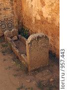 Купить «Могила в разрушенной мечети в Рабате», фото № 957443, снято 12 августа 2008 г. (c) Раппопорт Михаил / Фотобанк Лори