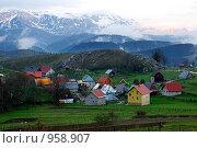 Купить «Босния, гора Беляшица», фото № 958907, снято 3 мая 2009 г. (c) Paul Bee / Фотобанк Лори