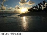 Рассвет на океане (2008 год). Стоковое фото, фотограф Юлия Новикова / Фотобанк Лори