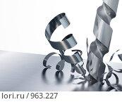 Купить «Дрель в работе», иллюстрация № 963227 (c) Сергей Галушко / Фотобанк Лори