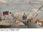 Купить «Парусное вооружение судов. Санкт-Петербург», эксклюзивное фото № 968167, снято 9 июля 2009 г. (c) Александр Алексеев / Фотобанк Лори