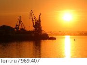 Вечер на рейде. Стоковое фото, фотограф Дмитрий Кашканов / Фотобанк Лори