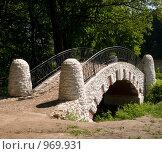 Купить «Мост из белого камня», фото № 969931, снято 20 мая 2018 г. (c) Fairy Water / Фотобанк Лори