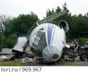 Разборка самолета (2009 год). Редакционное фото, фотограф gooclia / Фотобанк Лори