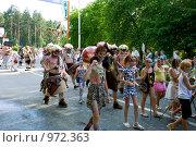 Купить «Карнавал в Заречном», фото № 972363, снято 11 июля 2009 г. (c) Елена Хоткина / Фотобанк Лори