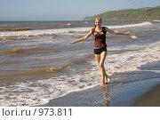 Купить «Бегущая по волнам», фото № 973811, снято 3 августа 2008 г. (c) Константин Куприянов / Фотобанк Лори