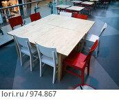 Столик в кафе. Стоковое фото, фотограф Коротеев Сергей / Фотобанк Лори
