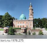 Купить «Суннитская мечеть, Владикавказ», фото № 978275, снято 11 июля 2009 г. (c) Андрей Багаев / Фотобанк Лори