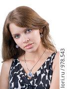 Купить «Портрет девушки», фото № 978543, снято 17 июля 2008 г. (c) Сергей Сухоруков / Фотобанк Лори