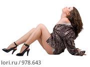 Купить «Привлекательная девушка», фото № 978643, снято 9 июля 2008 г. (c) Сергей Сухоруков / Фотобанк Лори