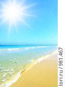 Купить «Пляж», фото № 981467, снято 26 мая 2009 г. (c) Роман Сигаев / Фотобанк Лори