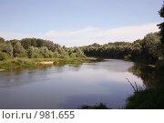 Река Хопер. Стоковое фото, фотограф Наталья Волкова / Фотобанк Лори