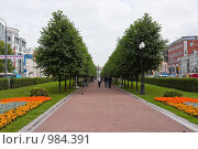 Купить «Цветной бульвар, Москва», фото № 984391, снято 10 июля 2009 г. (c) Иван Сазыкин / Фотобанк Лори