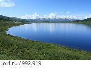 Горное озеро. Алтай, эксклюзивное фото № 992919, снято 16 июля 2009 г. (c) Яна Королёва / Фотобанк Лори