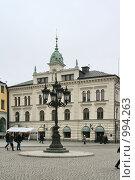Купить «Городской пейзаж.  (Уппсала, Швеция)», фото № 994263, снято 16 марта 2009 г. (c) Александр Секретарев / Фотобанк Лори