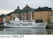 Купить «Городской пейзаж (Стокгольм, Швеция)», фото № 994331, снято 16 марта 2009 г. (c) Александр Секретарев / Фотобанк Лори