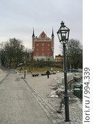 Купить «Городской пейзаж (Стокгольм, Швеция)», фото № 994339, снято 16 марта 2009 г. (c) Александр Секретарев / Фотобанк Лори
