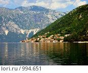 Пераст - город моряков, Черногория (2008 год). Стоковое фото, фотограф Дмитрий Моисеевских / Фотобанк Лори