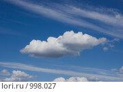 Облако. Стоковое фото, фотограф Моисеева Маргарита / Фотобанк Лори