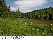 Купить «Средний Урал. Река Усьва», фото № 998647, снято 11 июля 2009 г. (c) Павел Спирин / Фотобанк Лори