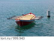 Купить «Спортивная лодка», фото № 999943, снято 27 июня 2008 г. (c) Александр Трушкин / Фотобанк Лори