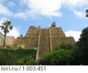 Пирамида майя. Стоковое фото, фотограф Pavel S. Popov / Фотобанк Лори