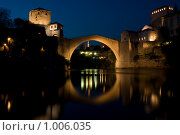 Купить «Мостар. Старый мост», фото № 1006035, снято 5 мая 2009 г. (c) Paul Bee / Фотобанк Лори