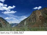 Купить «Челушманская долина. Горный Алтай», эксклюзивное фото № 1006567, снято 12 июля 2009 г. (c) Яна Королёва / Фотобанк Лори