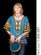 Купить «Барабанщик», фото № 1008987, снято 1 ноября 2008 г. (c) Сергей Сухоруков / Фотобанк Лори