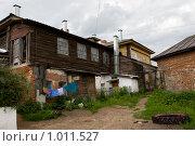 Купить «Касимов, дворик», фото № 1011527, снято 29 июня 2009 г. (c) Валерий Пчелинцев / Фотобанк Лори