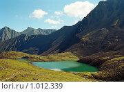 Горное озеро, Восточный Саян. Стоковое фото, фотограф Татьяна Добровольская / Фотобанк Лори
