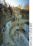 Водопад (2009 год). Стоковое фото, фотограф Игорь Жуленко / Фотобанк Лори