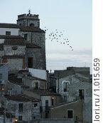 Купить «Вечер в деревне Ракалмуто, провинция Агридженто, Сицилия», фото № 1015659, снято 30 декабря 2006 г. (c) Chumakov Nina / Фотобанк Лори