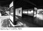 Домик в японском стиле. Стоковое фото, фотограф Акимов Евгений / Фотобанк Лори