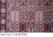 Купить «Фрагмент ковра», фото № 1018559, снято 25 ноября 2008 г. (c) Losevsky Pavel / Фотобанк Лори