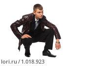 Купить «Мужчина в кожаном пиджаке», фото № 1018923, снято 12 февраля 2009 г. (c) Losevsky Pavel / Фотобанк Лори