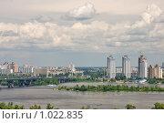 Купить «Киев, вид на левый берег Днепра», эксклюзивное фото № 1022835, снято 4 июля 2009 г. (c) Алексей Котлов / Фотобанк Лори