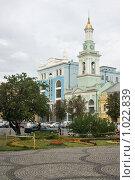 Киев, Екатерининский храм на Подоле (2009 год). Стоковое фото, фотограф Алексей Котлов / Фотобанк Лори