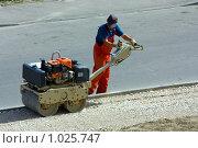 Строительство тротуара. Стоковое фото, фотограф gooclia / Фотобанк Лори