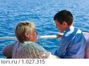 Купить «Приятное общение», фото № 1027315, снято 20 июня 2009 г. (c) Юрий Брыкайло / Фотобанк Лори