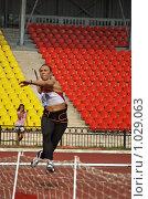 Купить «Разбег», эксклюзивное фото № 1029063, снято 1 августа 2009 г. (c) Виктор Зиновьев / Фотобанк Лори