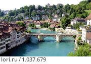 Купить «Панорама Берна, столицы Швейцарии», фото № 1037679, снято 26 июля 2008 г. (c) Светлана Кудрина / Фотобанк Лори